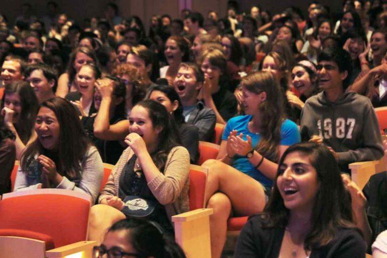 high school hypnotist audience